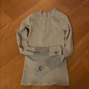 Freepeople Movement gray top XS/S